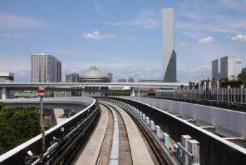 טוקיו - מבט ממסילת הברזל