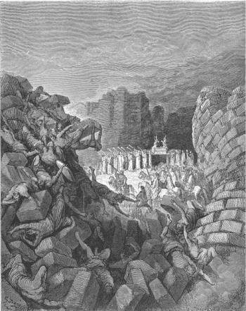 חומות יריחו נופלים - גוסטב דורה