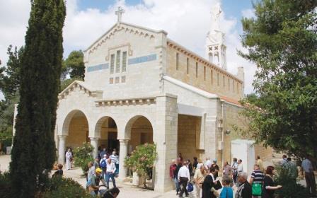 כנסיית יערים, צילום: דני ארד (באדיבות: הילה קומם)