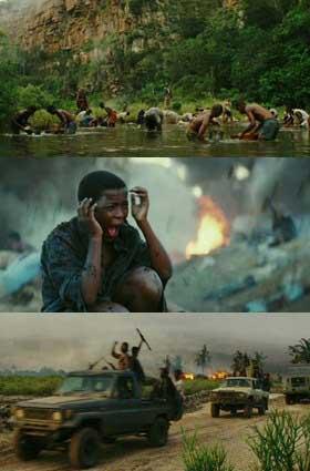 """האכזריות והיעדר ערך לחיי אדם באפריקה. מתוך """"לגעת ביהלום"""""""