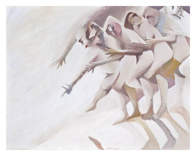 תנועה ורוח: תערוכה של מרסלו פישמן