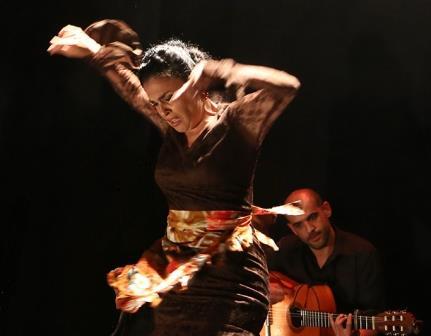 """מתוך המופע: להקת הפלמנקו רמנגאר, צילום: נטשה שכנס, באדיבות: לינה בלס יח""""צ"""