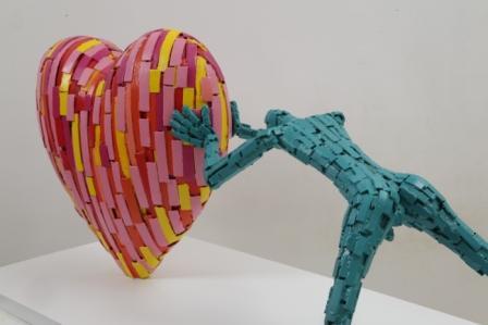 אנשים קטנים / ניצן אבידור - יוצר אמנות מהלב