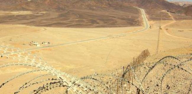 גבול ישראל-מצרים, נתיב ההסתננות של המסתננים/הפליטים