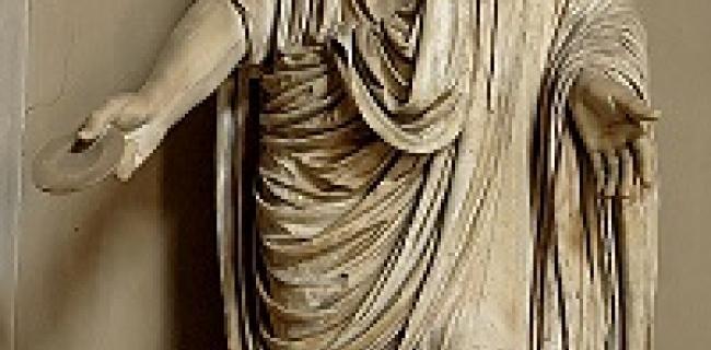 אוגוסטוס ככהן דת, מוזיאון הוותיקן