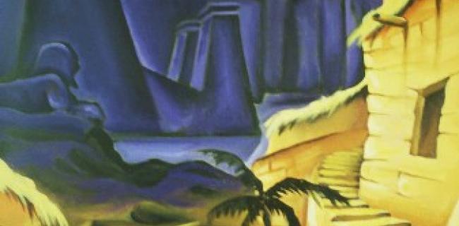 מכת חושך - ציור שלומי ישראל