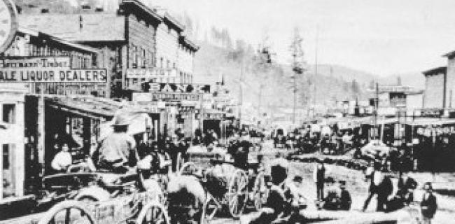 העיירה דדווד 1876