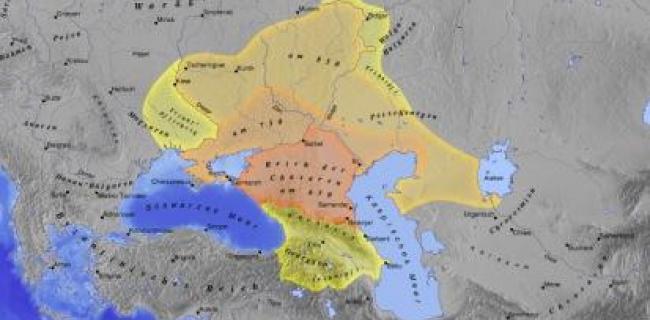 מפת ממלכת הכוזרים