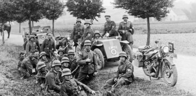 חיילי רייכסווהר  - 1930