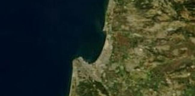 תמונת לווין של המפרץ וסביבתו, 2003