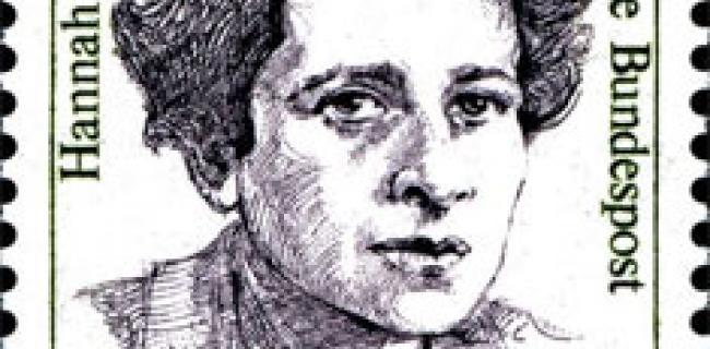 חנה ארנדט על בול מערב גרמני 1988. מקור ויקיפדיה העברית
