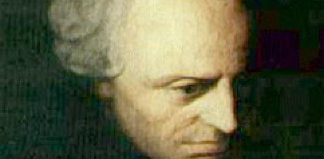 עמנואל קאנט- חשיבה ומוסר