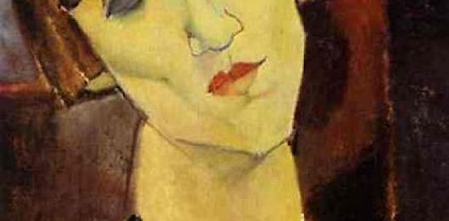 מאדאם קיזלינג 1917. מודליאני