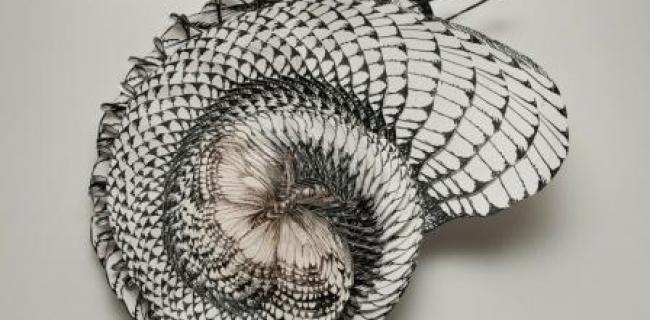 בתמונה: נימה קטלב, Mimicry, 2011 , קולאז, צלמת- יערה אורן