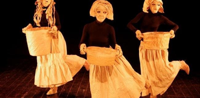 מתוך מופעי הפסטיבל: מופעי נייר, קרדיט: סדן הפקות אמנות