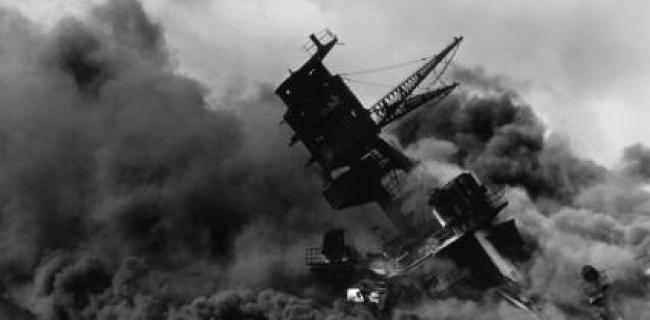 """טביעת ה""""אריזונה"""" - פרל הרבור 1941."""
