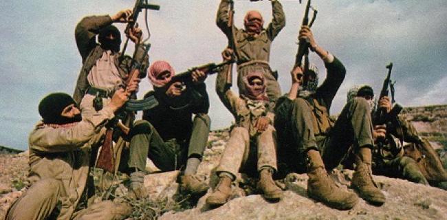 לוחמי גרילה של החזית העממית לשחרור פלסטין, 1969.