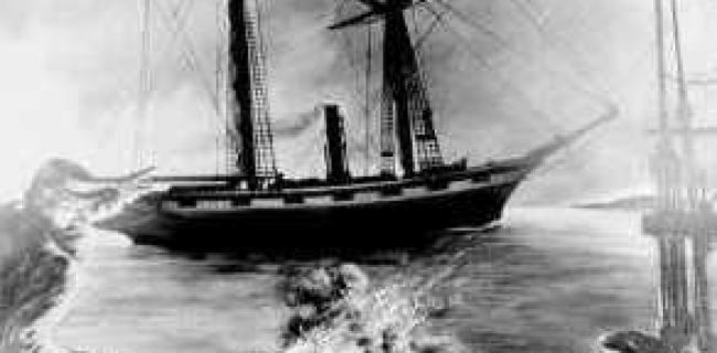 נמצאה אוניית קיטור שנבנתה במהלך מלחמת האזרחים האמריקאית