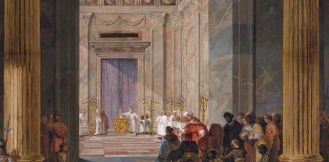 מזמור: על סף בית המקדש בשערי ירושלים בפתח הבריאה