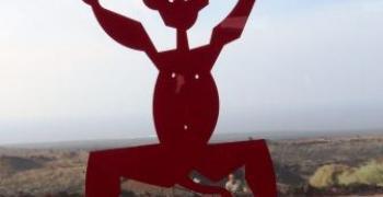 השד השוכן בהר הגעש, על פי דתם של הילידים הקנריים, צילום: ליאור עלמא וקסלר, באדיבות: הילה קומם