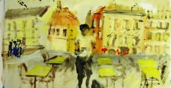 זיכרון השואה לנצח נצחים -  תערוכה קבוצתית בציור, בצילום ובמעשה טלאים