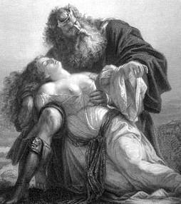 המלך ליר על גופת קורדיליה