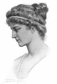 היפאטיה, איור משנת 1908