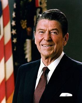רונלד וילסון רייגן (6 בפברואר 1911–5 ביוני 2004) היה הנשיא ה-40 של ארצות הברית (1981–1989).