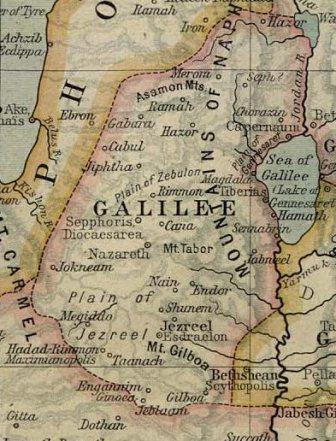 מפת הגליל בעת העתיקה