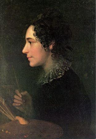 Marie Ellenrieder , דיוקן עצמי, 1819