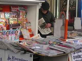 דוכן עיתונים