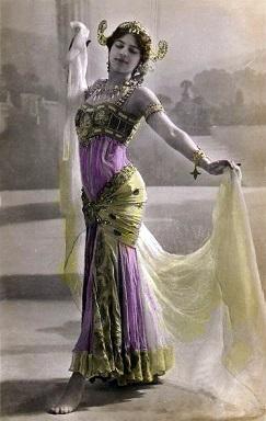 מאטה הארי (7 באוגוסט 1876 - 15 באוקטובר 1917)