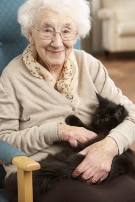 אישה זקנה
