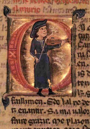 לתת שפה לאהבה: טרובדור. כתב-יד מן המאה ה-13
